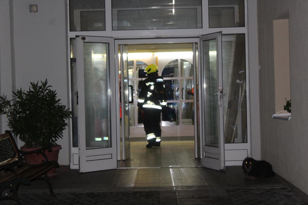Tűz volt egy bázakerettyei egészségügyi intézményben című videó előképe