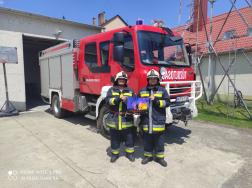 Zalaszentgróti tűzoltók a képeikkel