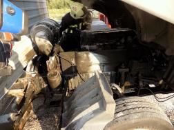 Kamion motortere égett Balatonberénynél
