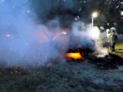 Autó vált lángok martalékává Keszthelyen
